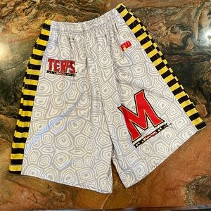 Men's small Maryland Terps shorts pockets